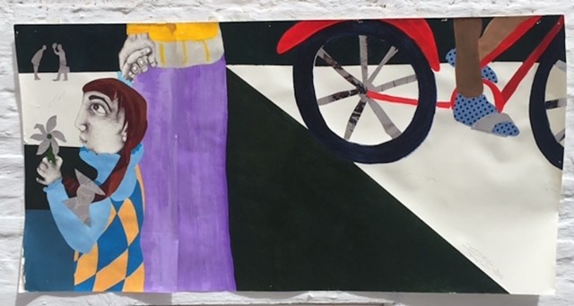 This work was created for the Bay Ridge SAW Art Walk.