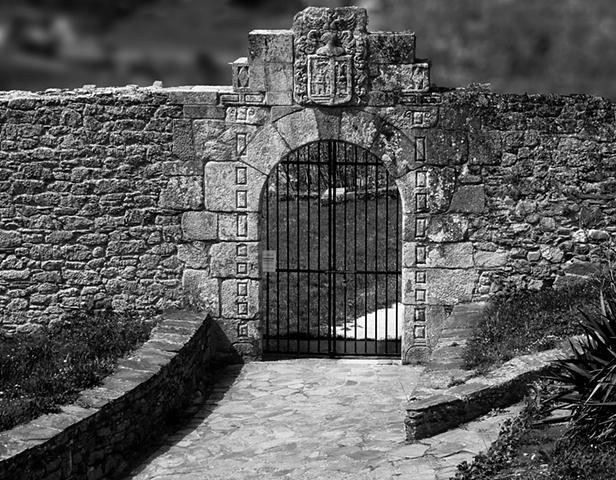 Entrance gate, Parador, Monforte de Lemos
