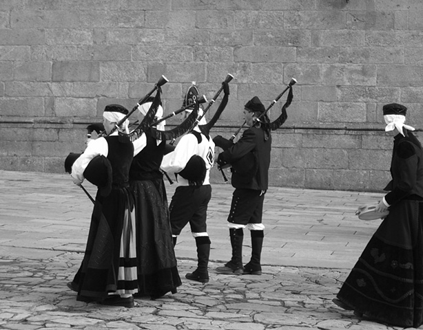 Musicians at Santiago de Compostela