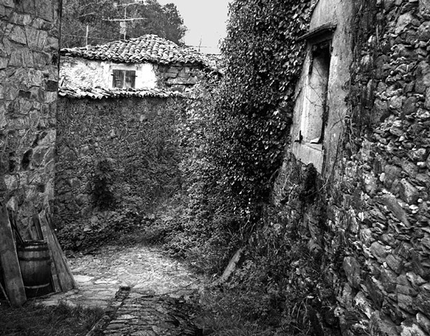 Path through the Village, Galicia