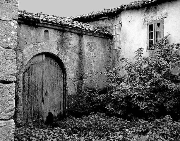 A shut gate