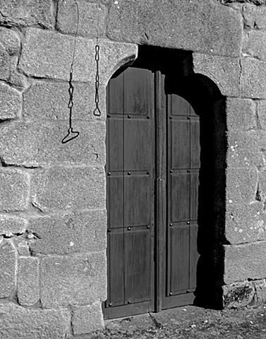 Door and bell-pull