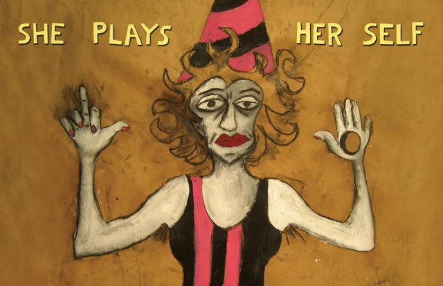 She Plays Herself  postcard