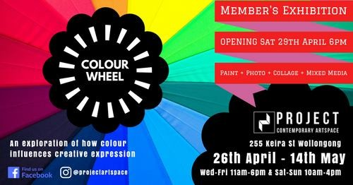 'Colour Wheel' Exhibition - April/May 2017