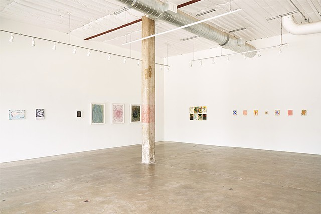 Install image of Hyper School at Big Medium Austin, curated by Max Manning