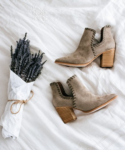 Spring '18 - vegan booties