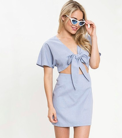 Summer '18 - baby blue frock
