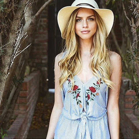 Summer '17 - chambray romper