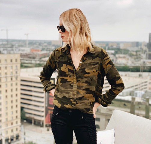 Fall'18 - camo blouse