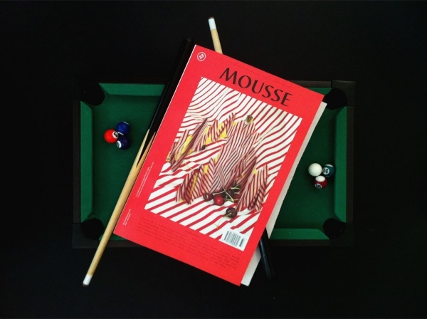 "Publication: ""Learning Modalities"" in Mousse No.33"