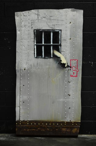 BANKSY (British, born 1975) Jail Break, 2010