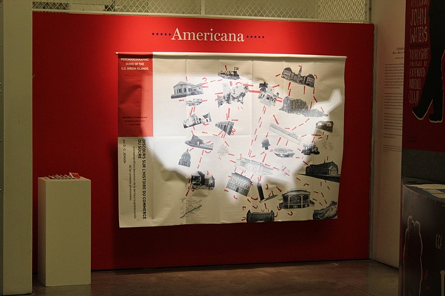 "Exhibition: ""Americana: US Virgin Islands: Histories of Sugar,"" Wattis Institute for Contemporary Arts, San Francisco, CA"