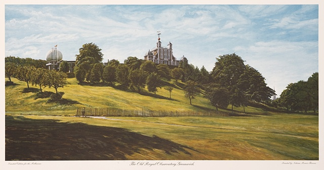 "ROYAL OBSERVATORY GREENWICH (Litho Prints 500 Available 16"" x 21.5"")"
