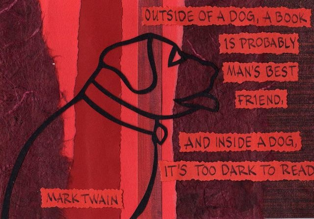 Mark Twain - Outside of a Dog