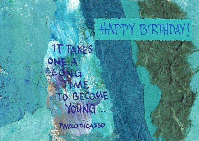 Happy Birthday; Picasso - It Takes a Long Time