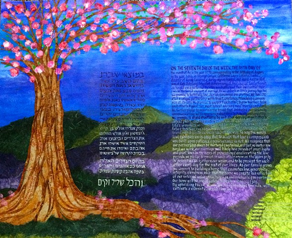 Citrin/Nelson Ketubah: Reform texts