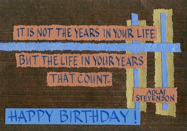 Happy Birthday; Stevenson - Age in Years