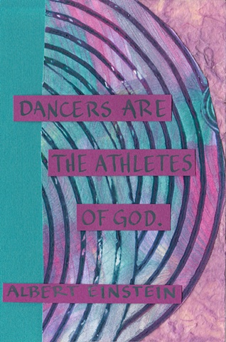 Einstein - Dancer Are the Athletes of God
