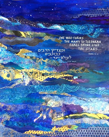 Commission done for Temple Beth El  in Rancho Palos Verdes, CA