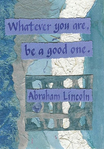 Lincoln - Be a Good One