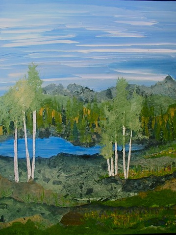 Sierra Water Meadows Giclee