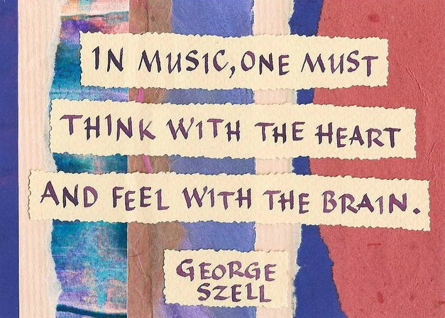 Szell- Think With The Heart