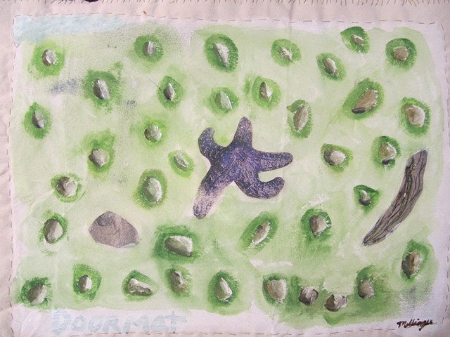 """Puget sound Seastar"" or nature doormat"