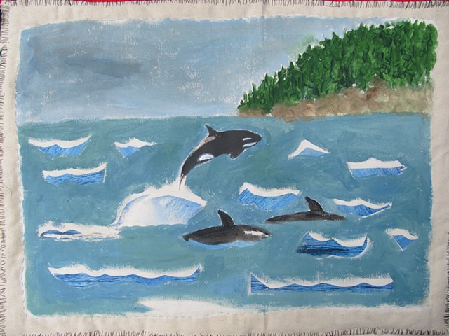 orca pod or nature doormat