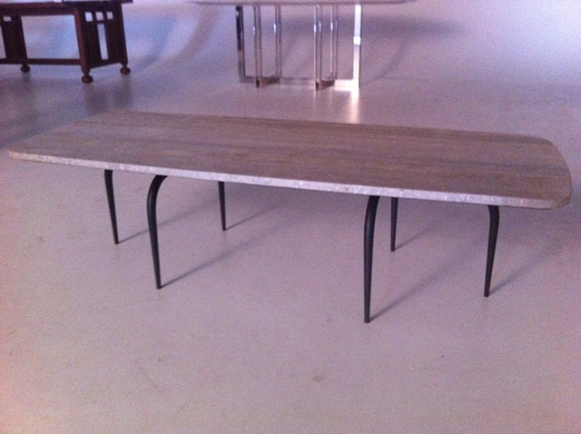 Tapered Leg Coffee Table