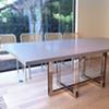 Oscar Dining Table w/ Caesarstone Rectangle Top