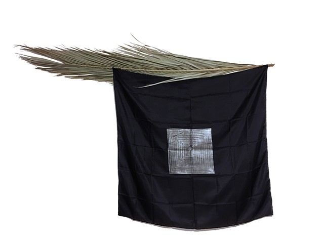 Palm Flag (black square)