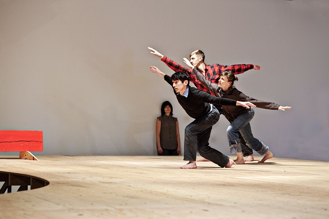 """In Site"" by Karl Burkheimer Collaborative performance choreographed by Thani Holt"