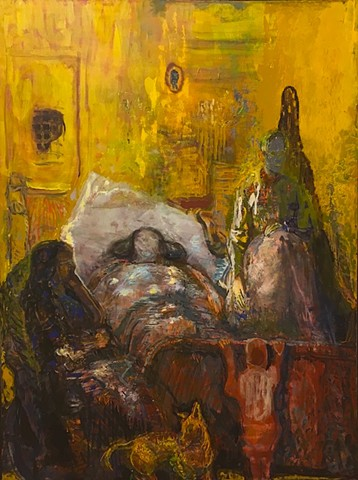 "Soka Gallery, Galuszka Exhibition ""Life in the Sick Room"""