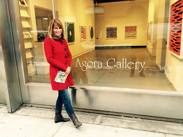 Represented by AGORA GALLERY, NYC