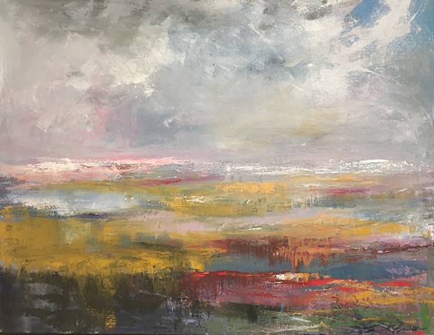 ALONG THE PINK HORIZON.  SOLD