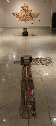 tools, sculpture, installation