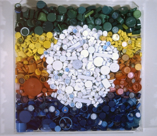 Bottlecap Painting