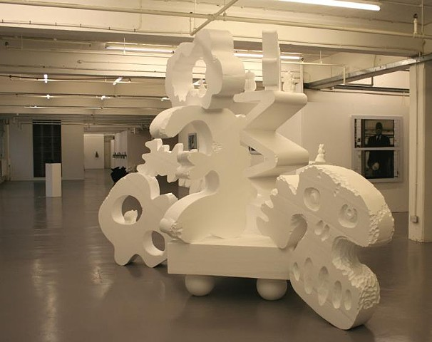 fieldgate gallery london polystyrene