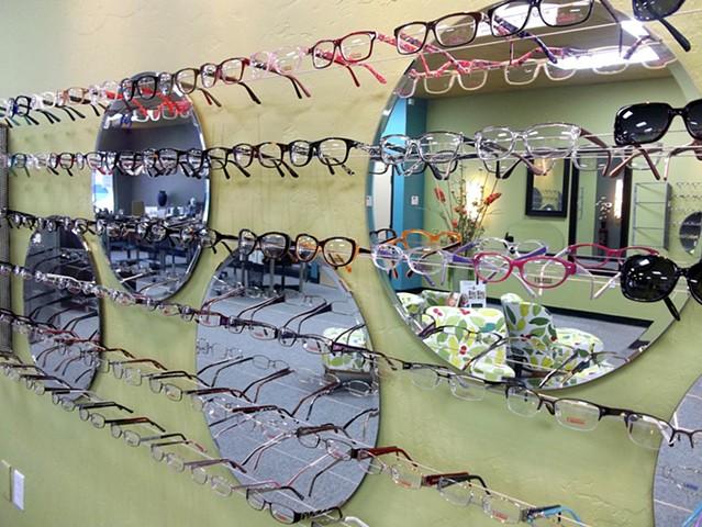 optical displays, eye glasses display
