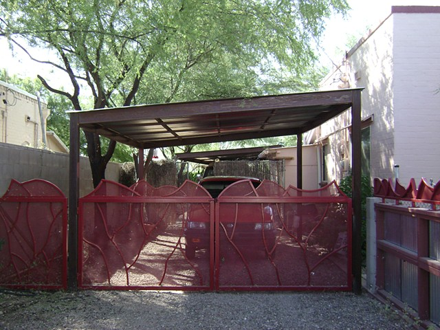 Johnny gate with carport