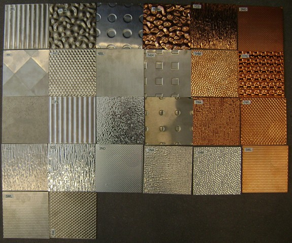 Textured Sheet Metal