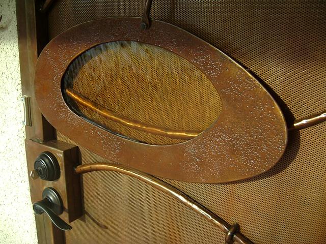 Ruth's Door detail