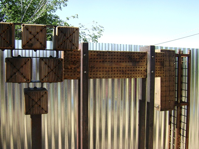 Bee Habitat Sculptures