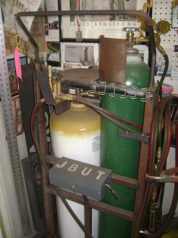 Gas cart