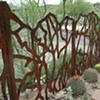 Moira's side fence