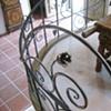 Vine Rail flower/handrail detail