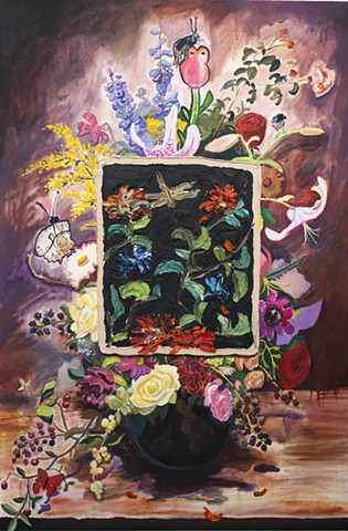 contemporary still life, contemporary painting