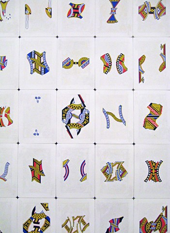 Card Variations II (detail)