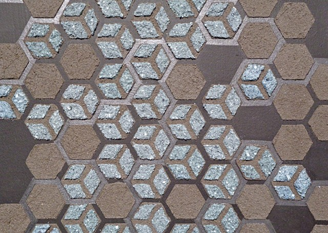 Black Honeycomb (detail)