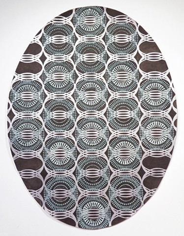 Untitled, (large oval).